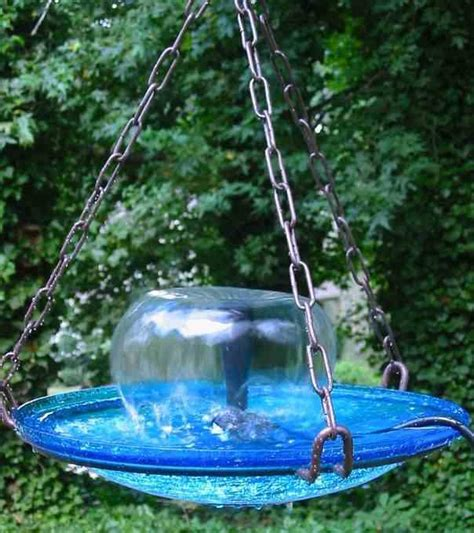 large hanging bird bath fountain the birdhouse chick