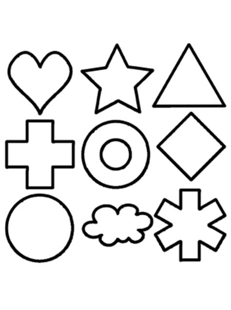 shape package activities template clipart  clipart