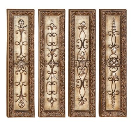 Tuscan Wall Decor Metal by Wall Designs Wood And Metal Wall Mexican Rustic
