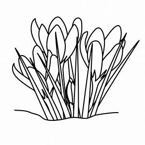 Cross with Easter Lilies Clip Art - Black and White ...