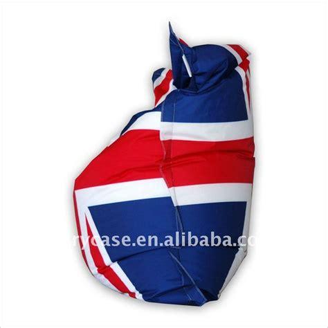 ignifuge union pouf chaise anglais drapeau bean bag chaises de salon id de produit