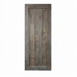 Porte Coulissante En Bois : porte en vrai bois gris porte coulissante 2 portes ~ Melissatoandfro.com Idées de Décoration