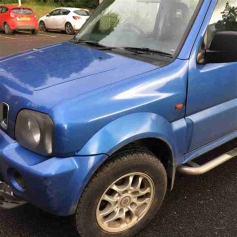 Suzuki Repairs by Suzuki 2003 Jimny Jlx Blue Spares Or Repairs Car For Sale