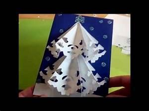 Pop Up Karte Weihnachten : 3d karte mit weihnachtsbaum machen pop up karten diy bastelideen zu weihnachten youtube ~ Buech-reservation.com Haus und Dekorationen