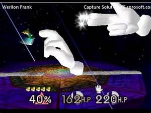 Super Smash Bros N64 Link Vs 2 Master Hands Gameshark