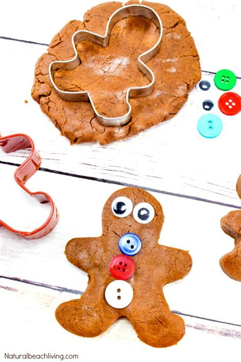 the best kindergarten and preschool gingerbread theme 742 | gingerbread playdough pin1 682x1024