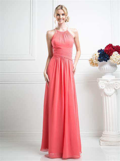 halter overlay bridesmaid dress sung boutique l a