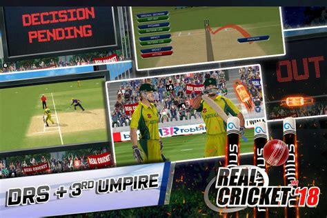real cricket 18 mod apk v1 4 unlimited money
