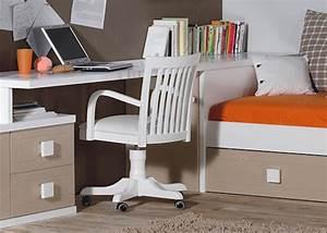 Bureau de lit lits mezzanine chambre literie lit bureau for Amenagement chambre ado avec matelas renault 80x200