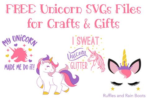 Download for free in png, svg, pdf formats 👆. DIY Unicorn Ribbon Ring Decor - So Cute!