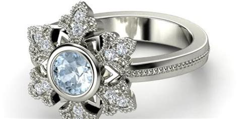 These 'frozen'-inspired Engagement Rings Are For Diehard