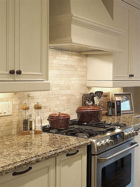 backsplashes for kitchens light ivory travertine kitchen subway backsplash tile