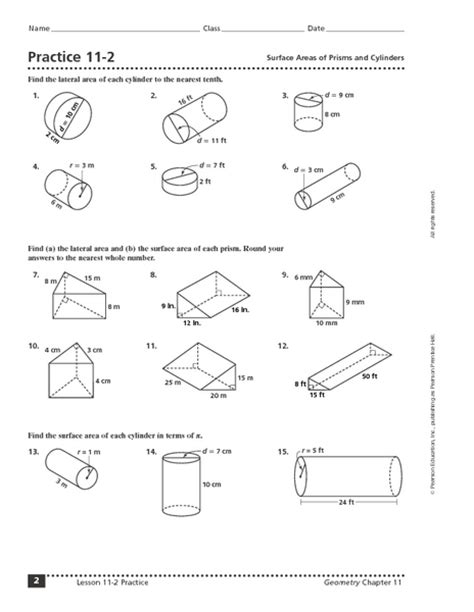 All Worksheets » Surface Area Worksheets  Printable Worksheets Guide For Children And Parents