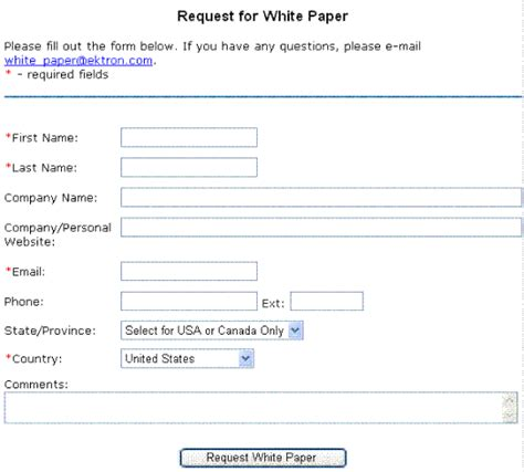 creating a form s content