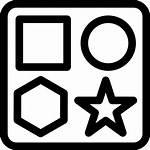 Icon Toy Box Shapes Shape Icons Svg