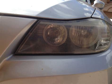 bmw warranty cover oxidized headlights
