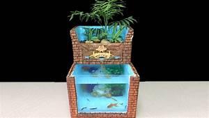Diy Aquarium Fish Of Styrofoam Box  Aquaponics System