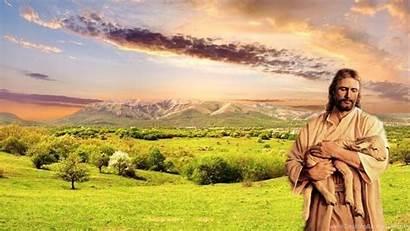 Jesus Christ Backgrounds Shepherd Wallpapers Background Desktop
