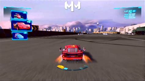 Cars 2 Game English Daredevil Lightning Mcqueen Runway