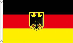 GERMANY STATE EAGLE - 5 X 3 FLAG