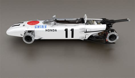 Honda Ra 272 Formula 1 Racing Car 3d Model C4d