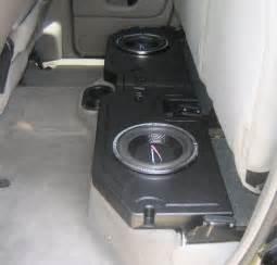 dodge dakota bench seat dodge ram 1500 subwoofer box