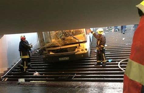 Least Four People Killed Bus Moscow Daily