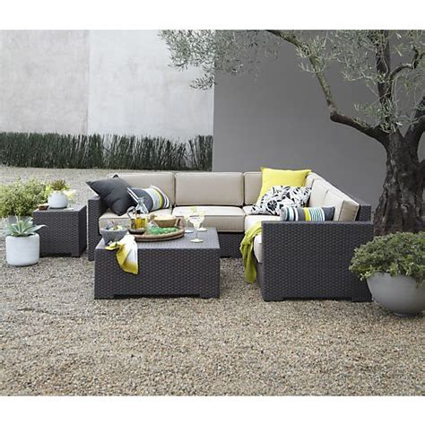 ventura 3 loveseat sectional with sunbrella 174