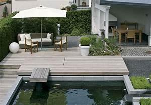 Terrassengestaltung bodenbelag fur die terrasse for Terrasse gestaltung