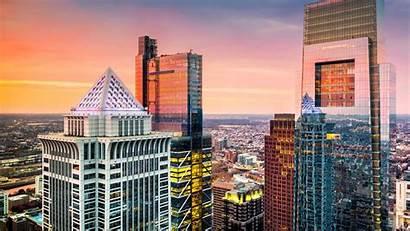 Philadelphia Downtown Skyscrapers Atlantic Irish Conference Agents