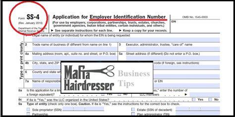 Spell Employer by Do I Need An Ein Mafia Hairdresser