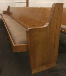 used church pews for sale by a church