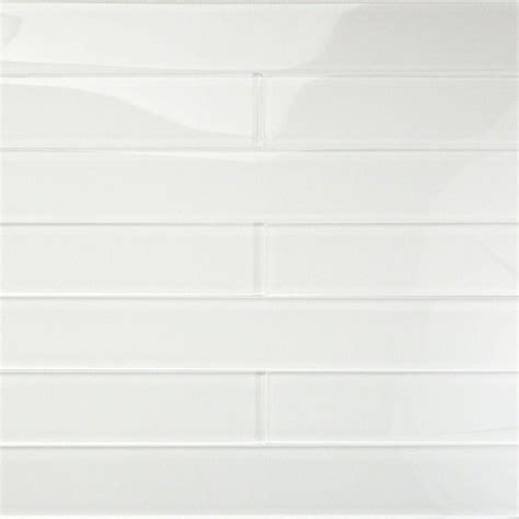 splashback tile contempo vista bright white 2 in x 16 in
