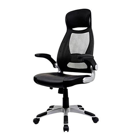 chaise de bureau pliable iwmh fauteuil de direction siège ergonomique grande taille