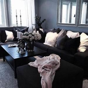 le salon gris et noir comment le decorer archzinefr With tapis chambre bébé avec beau bouquet de fleurs pour anniversaire