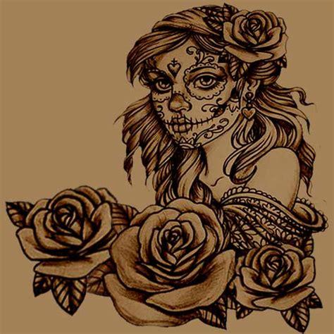 create   sugar skull tattoo full tattoo