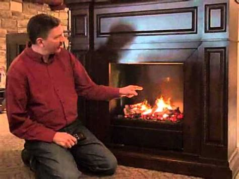 Electric Fireplace with Amazing New Smoke & Flame Illusion