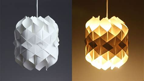 diy cool paper lamp   hacker youtube