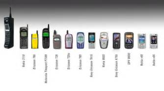 history on my phone the history of the mobile phone