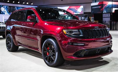 2016 jeep cherokee sport black on black red as night new 2016 jeep grand cherokee srt night