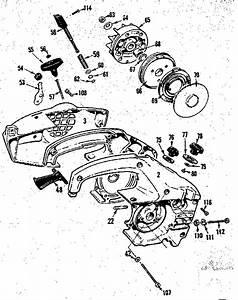 358 350830 Craftsman 18 Inch Gas Powered Chainsaw