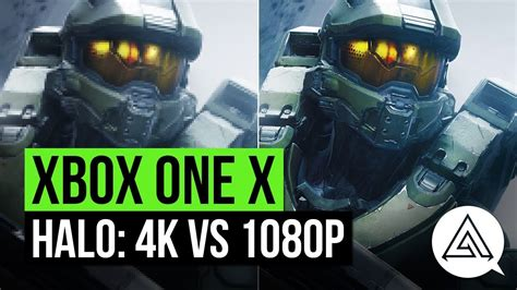 Halo 3 And 5 Xbox One X 4k Vs 1080p Gameplay Comparison