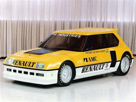 prix si鑒e auto el renault 5 turbo ii ppg pace car es el safety car más cool de la historia