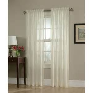 georgette semi sheer drape window finery at sears and kmart