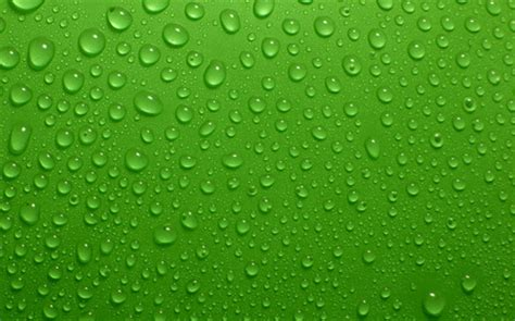 green water drops photography abstract background