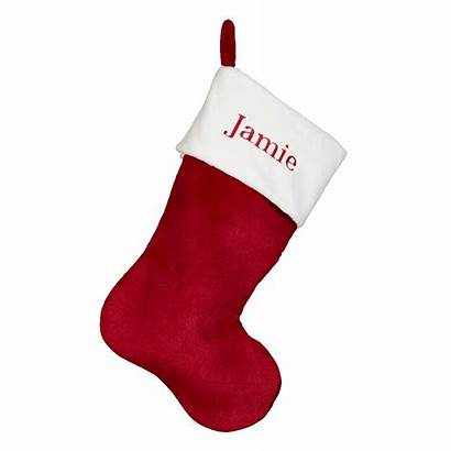 Christmas Stocking Embroider Plush Stockings Buddy Easy