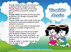 Oraciones catolicas para niños Imagui