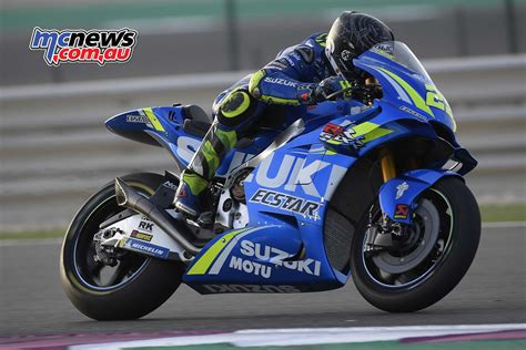 Suzuki Top Second Day Of Motogp #qatartest At Losail