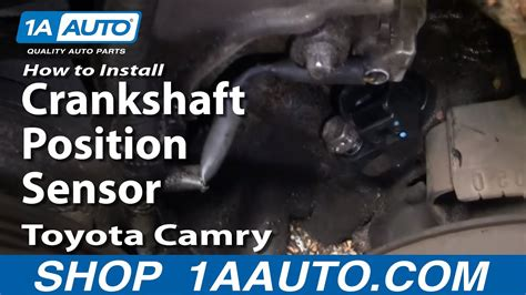 install replace crankshaft position sensor toyota