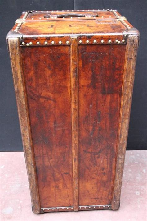 leather steamer trunk coffee table 1900s all leather louis vuitton wardrobe steamer trunk